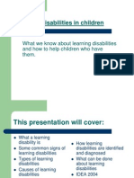 LearningDisabilities (for Teachers)