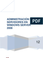 Adminstracion de Servidores en Windows Server 2008