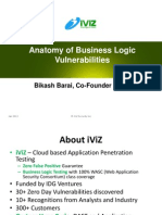 Anatomy of Business Logic Vulnerabilities