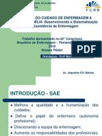 APRESENTAÇÃO TRABALHO DE FASE