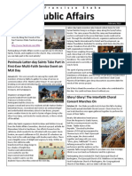 SF Stake Public Affairs Newsletter - Feb 2013