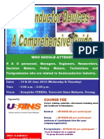 Semiconductor Devices - A Comprehensive Guide June 2013