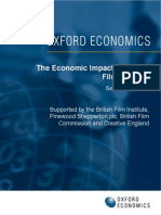 British Film Institute - Economic Impact of the Uk Film Industry 2012-09-17