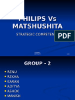 Philips vs Matshushita