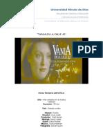 Analisis de Vania en La Calle 42