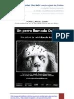 Analisis Pelicula Un Perro Llamado Dolor[1]