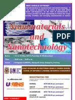 Nanomaterials & Nanotechnology Course May 2013
