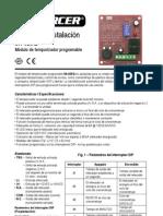 Manual de Instalacion Temporizador