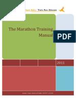 Marathon Training Manual 2011