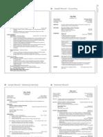 CSG Resume Samples