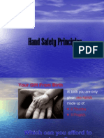 Safety - Hand Injury Prevention