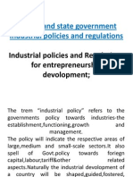 Central and state government industrial policies and regulations.pptx