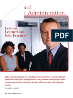 post contract administration