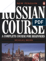 The New Penguin Russian Course- A Complete Course for Beginners