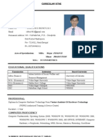 CV_For MBA_2013