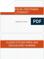 ETICA SEXUAL CRSITINANA ¿TODAVIA