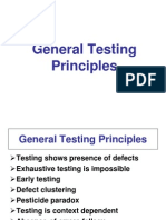 General Testing Principles