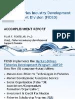 BFAR-FIDSD Accomplishments 2012