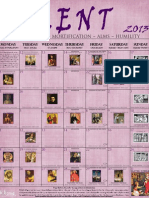 2013 Lenten Calendar - EO purple