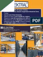Elektral Products' Presentation