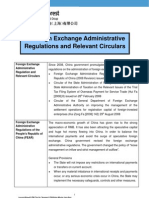 China - Foreign Exchange Administrative Regulation