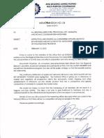 Memorandum Circular No. 04-2013