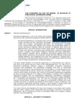 Approved BSME PS Sept. 19, 2007