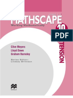 Mathscape 10 Ext PRELIMS