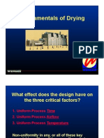 Fundementals of Drying