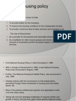 Housing Policy