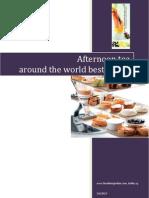 Best Afternoon Teas Around the World Finediningindian