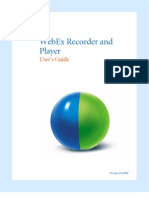 Recorder and Player User Guide