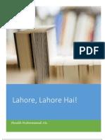 Lahore Lahore Hai