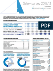 The CA Salary Survey Infographic, February 2013