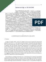 Diritto Processuale Penale Progredito Relazione Al Decreto Legislativo 231 2001