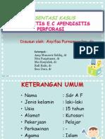 Preskas Peritonitis ec. apendisitis perforasi