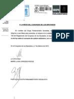 Propuesta PSOE Carbon Nacional