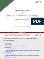 Open-E DSS V7 Active-Active iSCSI Failover