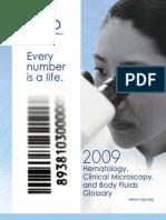 2009 Hematology Glossary