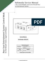 Renault Multimedia Control Module4 Service Manual