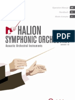 HALionSymphonicOrchestra Manual