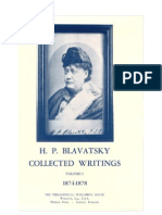 02. H.P. Blavatsky - Collected Writings - VOLUME I (1874-1878)
