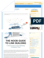 Www.seomoz.org Blog the Noob Guide to Link Building