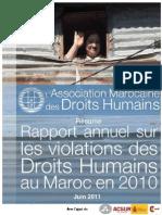 Rapport Violations 2010 Fr