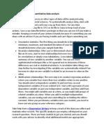 PhD Thesis Guide for Quantitative Data Analysis 6
