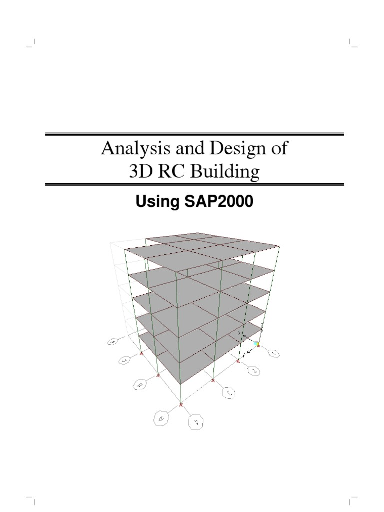 SAP2000-Example 3D RC Building | Strength Of Materials | Parameter