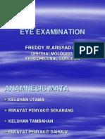 Eye Examination - Dr. Freddy, Spm