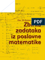 Poslovna matematika-zbirka