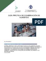 GUÍA CONSERVACION DE ALIMENTOS