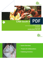 CABI South Asia-India, Brief Profile
